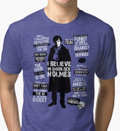 Detective Quotes Tri-blend T-Shirt