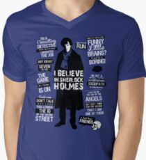 Detective Quotes Men's V-Neck T-Shirt