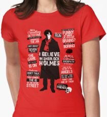 Detective Quotes Women's Fitted T-Shirt
