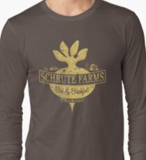Schrute Farms (Special Mose edition!) Long Sleeve T-Shirt