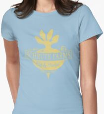 Schrute Farms (Special Mose edition!) Womens Fitted T-Shirt