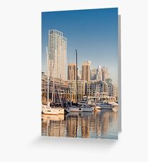 Puerto Madero - Buenos Aires (Argentine) bis Greeting Card