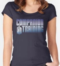 Companion in Training Women's Fitted Scoop T-Shirt