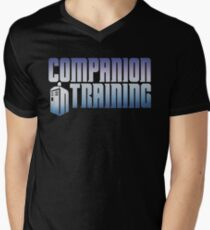 Companion in Training Mens V-Neck T-Shirt