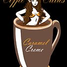 Coffee Cuties Caramel Creme by Ameda Nowlin