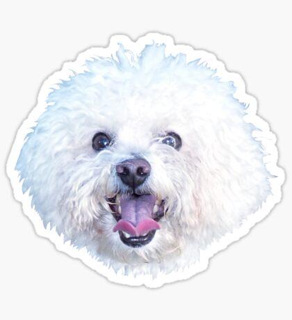 Maltese smile Sticker