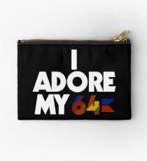 I Adore My 64 Studio Pouch