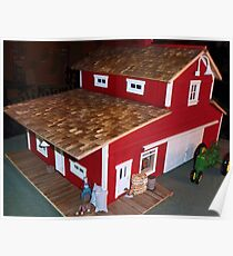 Horse Barn (A Miniature) Poster