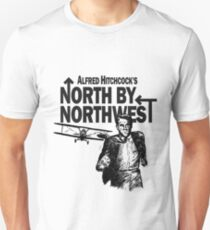 Alfred Hitchcock's North by Northwest by Burro! Unisex T-Shirt