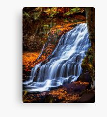 Wadsworth Falls Canvas Print