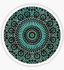 green circle mosaic Sticker