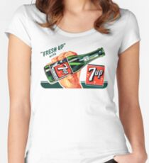 7 UP 8 Women's Fitted Scoop T-Shirt