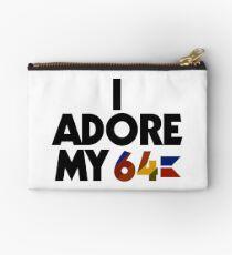 I Adore My 64 (Black) Studio Pouch