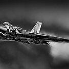 Avro Vulcan XH558 B/W by SWEEPER
