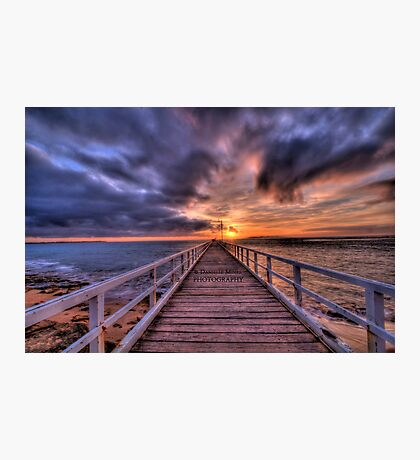 Point Lonsdale Pier HDR Photographic Print
