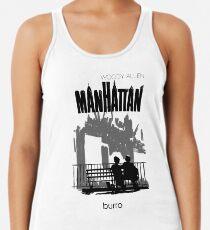 Camiseta de tirantes para mujer Manhattan de Woody Allen - ilustración