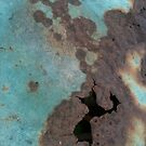 Third piece in the aqua rust love series by exuberantspirit