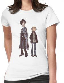 Flatmates Womens Fitted T-Shirt