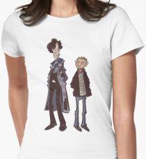 Flatmates Women's Fitted T-Shirt