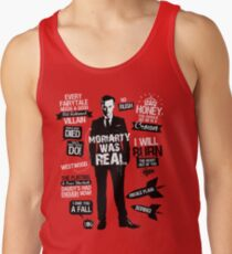 Good Old Fashioned Villain Quotes Tank Top