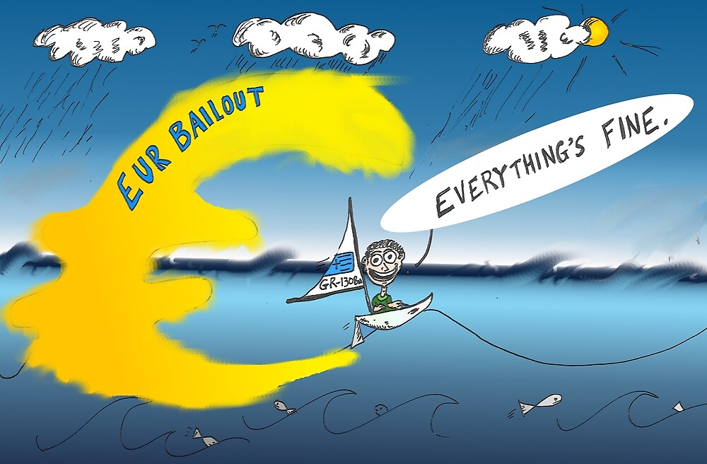 binary options cartoon Here comes the wave by Binary-Options