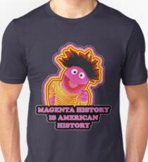 Magenta History Month Slim Fit T-Shirt