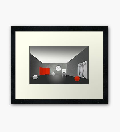 Leisure is the time for doing something useful.    Framed Print