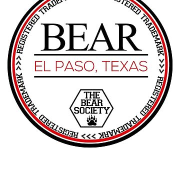 Bear - Registered Trademark by tbsgear