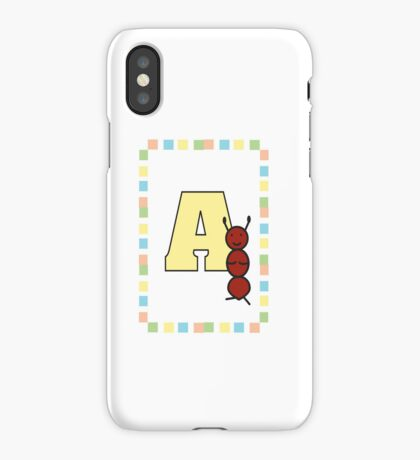 A is for Ant iPhone Case/Skin