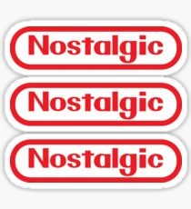 Sticker Pack! NES Collection : Nostalgic Logo Sticker