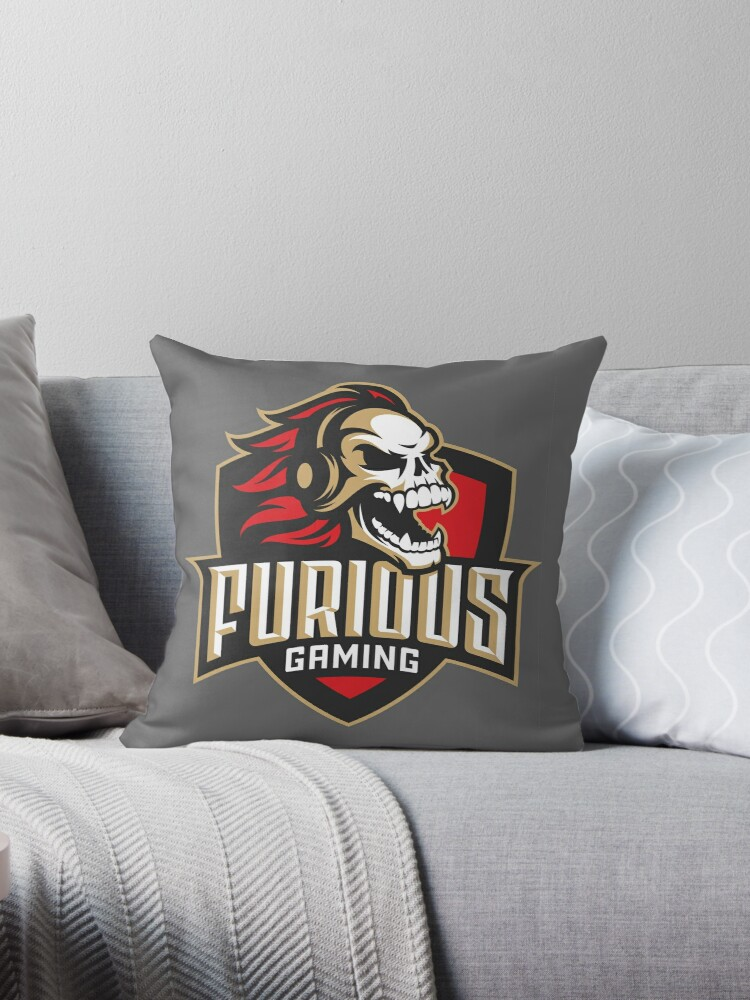 Incredible Furious Gaming Throw Pillow By Newtrigger020 Uwap Interior Chair Design Uwaporg