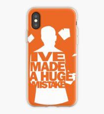 Ich habe einen großen Fehler gemacht iPhone-Hülle & Cover