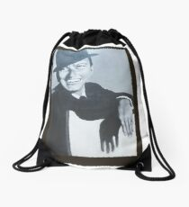 A TRIBUTE TO FRANK FOR HIS 100TH. BIRTHDAY  Drawstring Bag