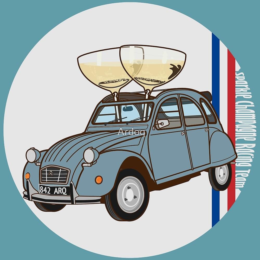 Citroen 2CV - Champagne Racing by Ardoq