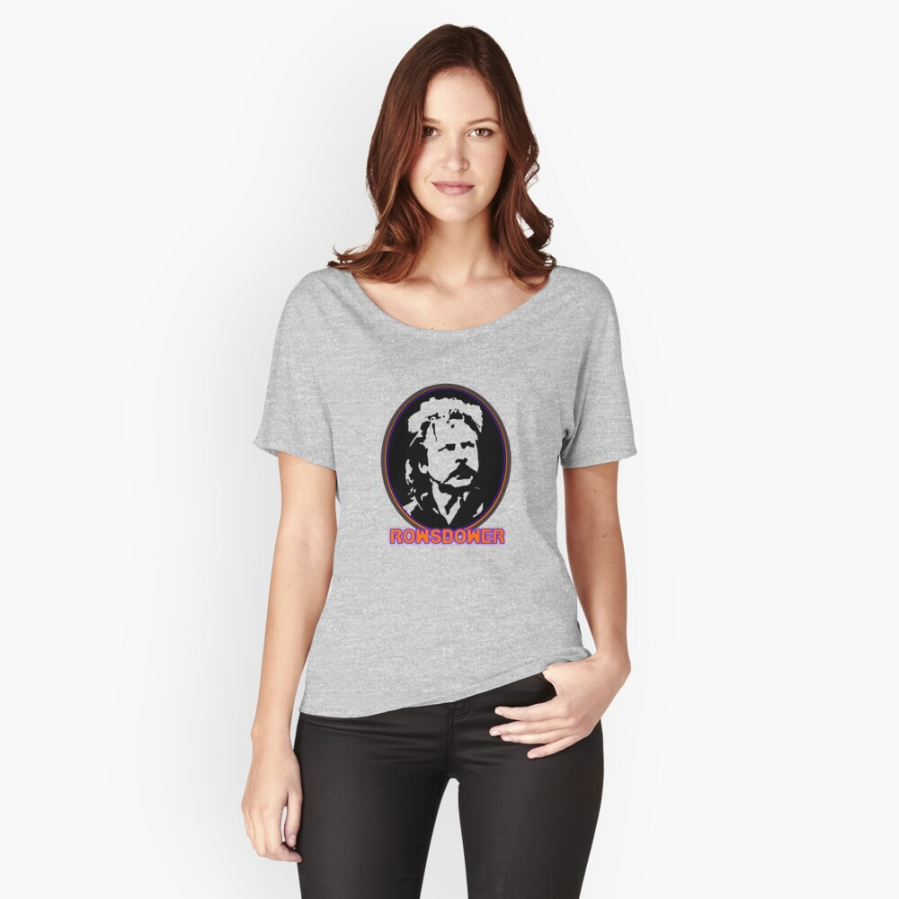 ROWSDOWER! Women's Relaxed Fit T-Shirt Front