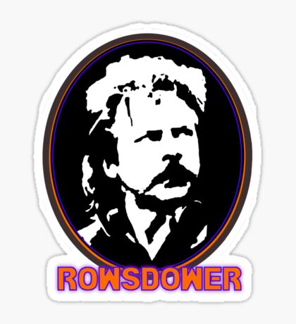 ROWSDOWER! Sticker