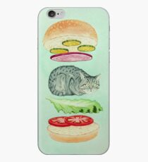 Catsup - Cat Burger Delight! iPhone Case