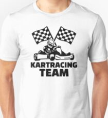 Kart racing team Unisex T-Shirt