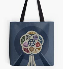 EPCOT Center iPhone and TShirt Tote Bag