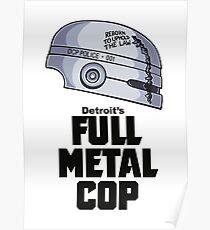 Full Metal Cop Poster