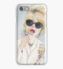 Patsy Stone of Absolutely Fabulous / Ab Fab iPhone Case/Skin