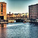 Albert Dock - Liverpool UK England by Glen Allen