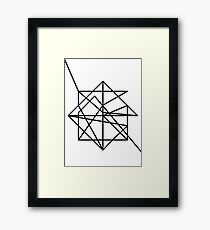 Wire Framed Print