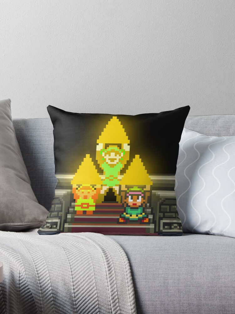 Link Evolution with Triforce by brotherbrain