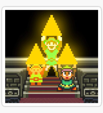 Link Evolution with Triforce Sticker