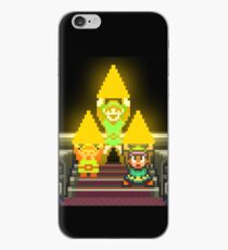 Link Evolution with Triforce iPhone Case