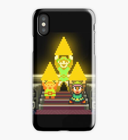 Link Evolution with Triforce iPhone Case/Skin