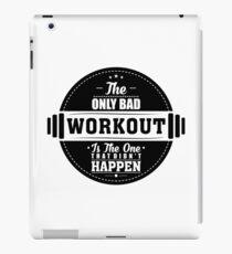Vinilo o funda para iPad Bad Workout Gym Cotización de fitness
