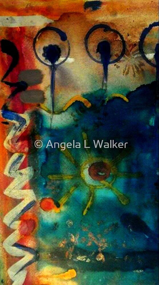 My Own Painted Desert - WIP by © Angela L Walker