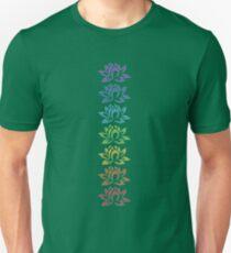 seven lotus flowers Unisex T-Shirt